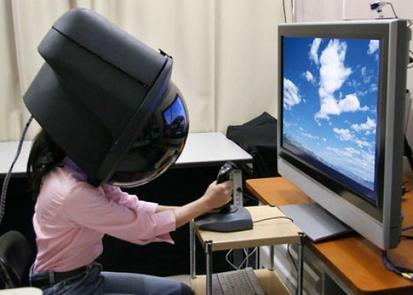 Casco de realidad virtual 360º