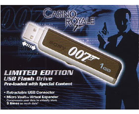 La memoria USB de James Bond