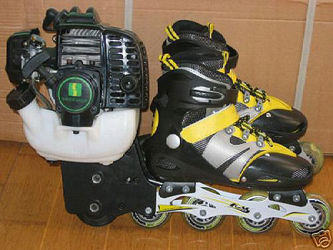 patines a motor