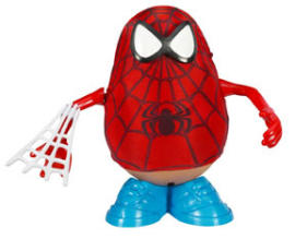 Mr Potato Spiderman