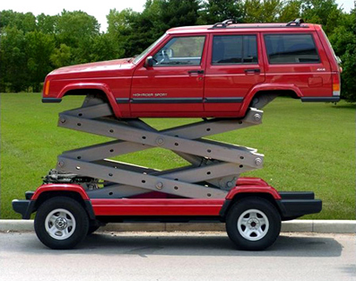 jeep extensible