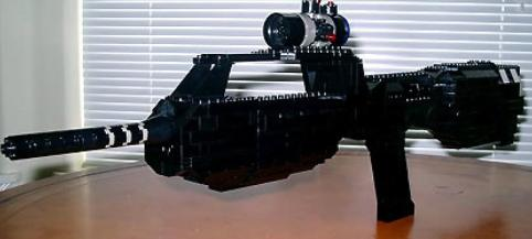 Rifle del Halo con lego
