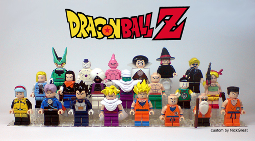 LEGO Dragon Ball Z Characters