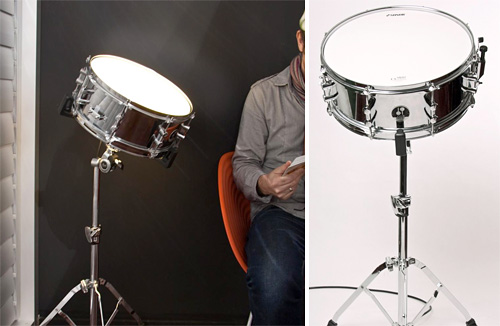 Sound Activated Drum Light (Images courtesy endemicworld