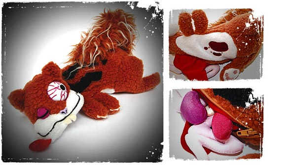 Peluche atropellado Roadkill Toys