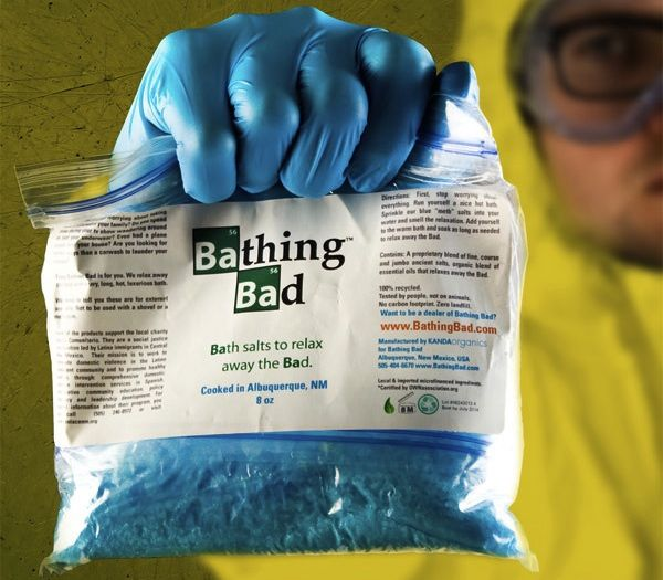 Sales de baño Breaking Bad
