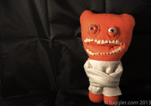 Fugglers: peluches con dientes humanos