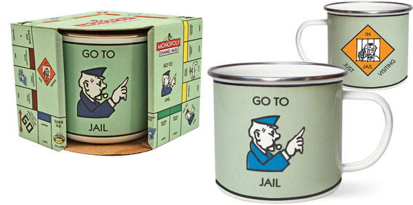 Taza monopoly go to jail