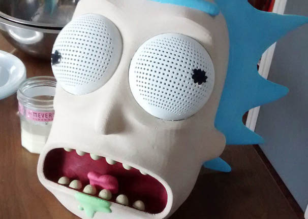 rick-and-morty-3d-mascara-rick-sanchez