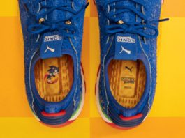 Zapatillas azules Sonic the hedgehog