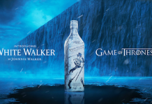 Whisky White Walker y de distintas casas de Juego de Tronos, por Johnnie Walker