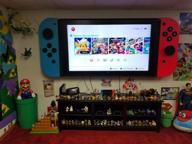 Nintendo Switch gigante