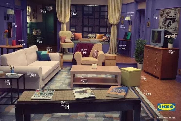 Tu salón al estilo «Friends», «The Simpsons» o «Stranger Things», con muebles de IKEA